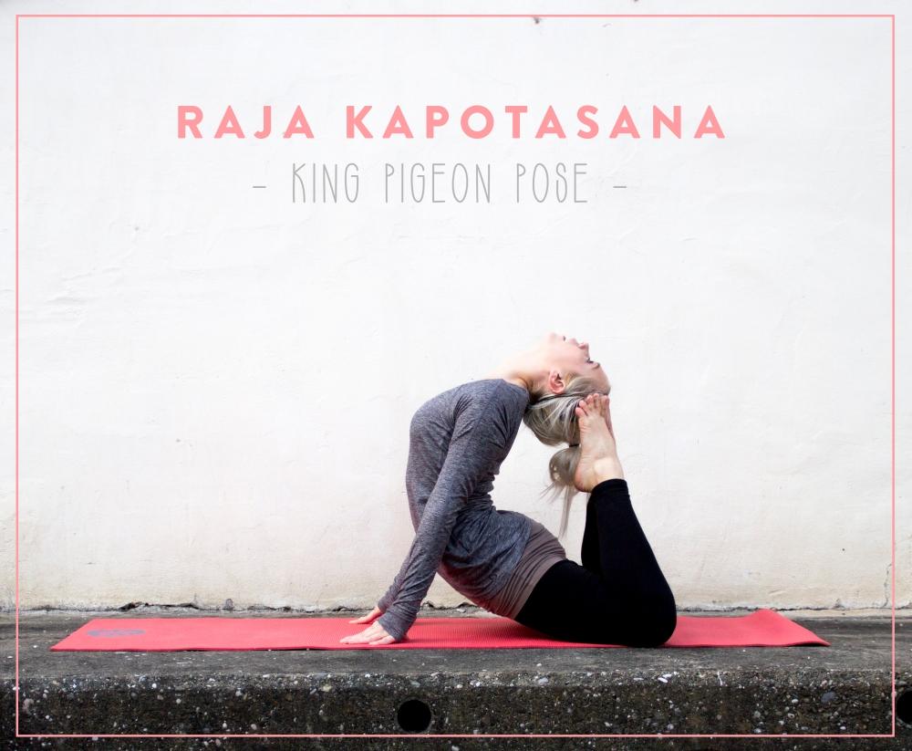 Sunday Funday: Raja Kapotasana - King Pigeon Pose |by JuYogi