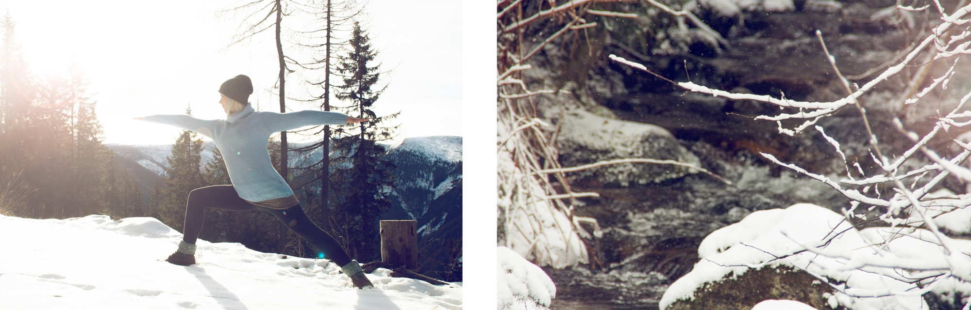 Having fun in winter wonderland  by JuYogi