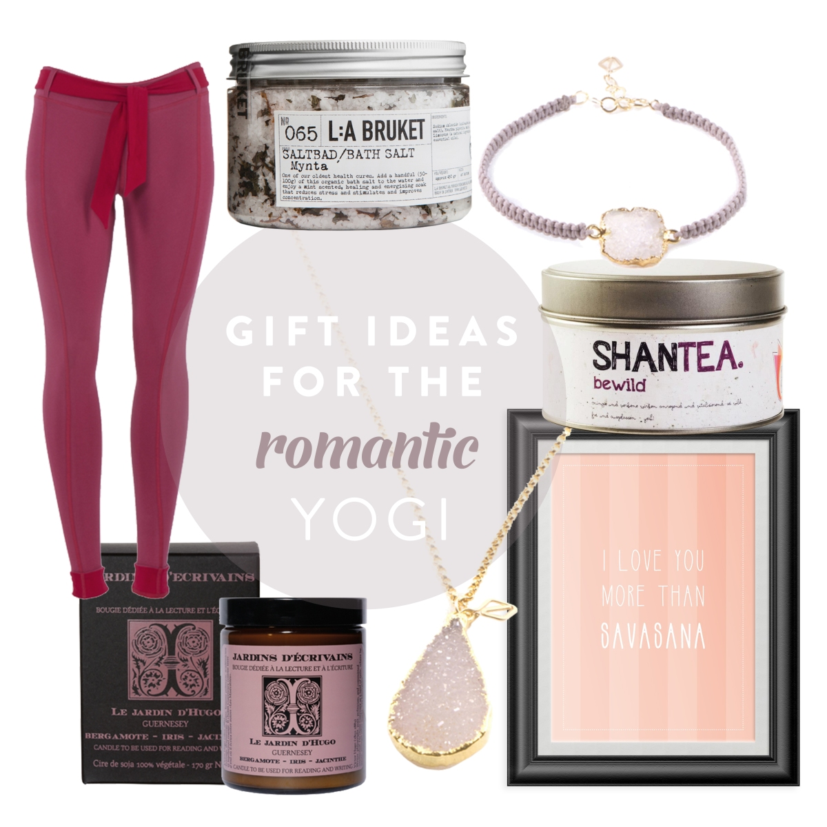 Gift Ideas for the romantic Yogi |by JuYogi