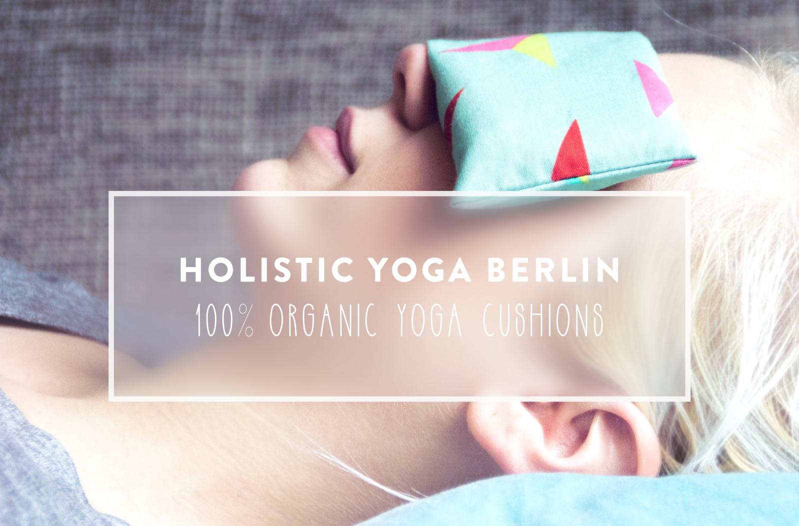 Holisitc Yoga Berlin -100% Organic Yoga Cusions | by JuYogi