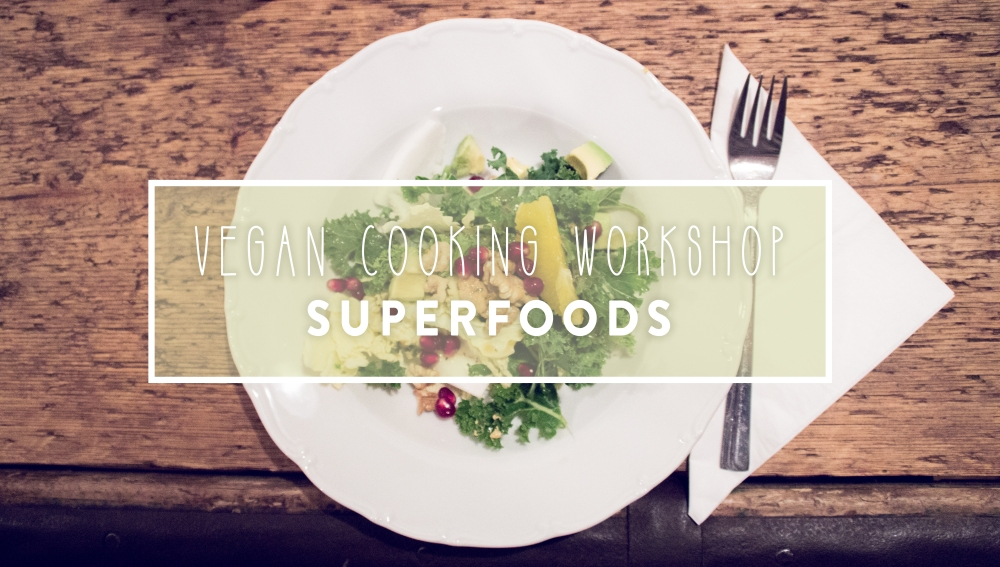 Vegan Workshop: Superfoods | by JuYogi